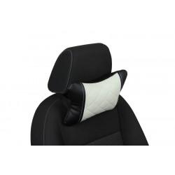 Подушка из Экокожи Ромб автомобильная под шею в Сочи